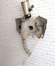 Love this whimsical elephant art!