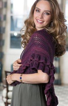 Evening Shades Shawl Crochet Pattern freebie, yum: thanks so for share xox