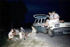 """During their escape from the Pincher Creek Retirement home, the ladies stopped for a quick snack. """"It's 2:00 AM """" Edwinna said , """"I'm ready for the road...let's hit it girls."""""""