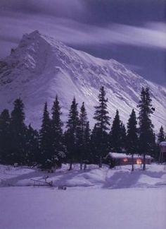 Richard Proenneke's Alaskan wilderness cabin