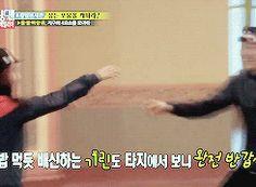 "Running Man- ""Nooooona!"" Kwang Soo's reaction to Ji Hyo's joining them in Australia. SO CUTE."