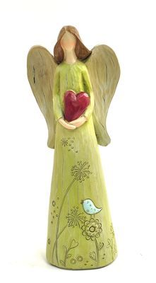 Angel with Heart Figure -