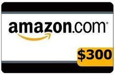 300 amazon gift card