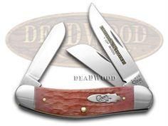 CASE XX Watermelon Jigged Bone 1/3000 Sowbelly Pocket Knife - CA11602 | 11602 - 021205116020
