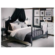 SVELVIK estructura de cama 160 + viga + somier