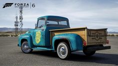 Fallout 4-themed 1956 Ford F100 added to Forza 6
