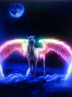 A New Moon has power to manifest your most wanted wishes. A New Moon has the power to manifest your most wanted wishes. Get Clear-cut results with New Moon Spells. Unicorn Painting, Unicorn Drawing, Unicorn Art, Cute Unicorn, Beautiful Unicorn, Beautiful Fantasy Art, Animals Beautiful, Cute Animals, Unicorn Images