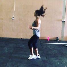 Switching up cardio for the ropes  showoffs #jumprope #crossfit #gym #fitness #shredz #shredzambassador #nike #justdoit #cardio