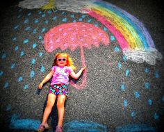 sidewalk chalk photography | Fun with Sidewalk Chalk! | Photography....
