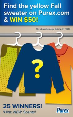 Repin if you found the yellow sweater on Purex.com!