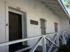 Casa Sorranes,  Monterey.
