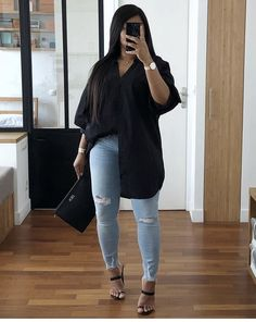 Black Girl Fashion, Curvy Fashion, Look Fashion, Plus Size Fashion, 70s Fashion, Winter Fashion, Womens Fashion, Curvy Girl Outfits, Cute Casual Outfits