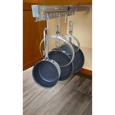 Pot Organization, Kitchen Drawer Organization, Kitchen Storage, Cabinet Organizers, Door Organizer, Hanging Organizer, Upper Cabinets, Wood Cabinets, Kitchen Cabinets