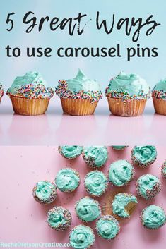 How do you use carousel pins anyway? Now that you can add multiple pins at once you may be wondering how to best take advantage of this feature. These ideas give you inspiration to get started with five different types of carousel pins. Pinterest Marketing, Getting Things Done, Mini Cupcakes, 5 Ways, Carousel, How To Make Money, Creative, Online Business, Inspiration