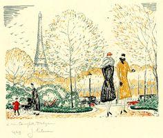 1920s Christmas card