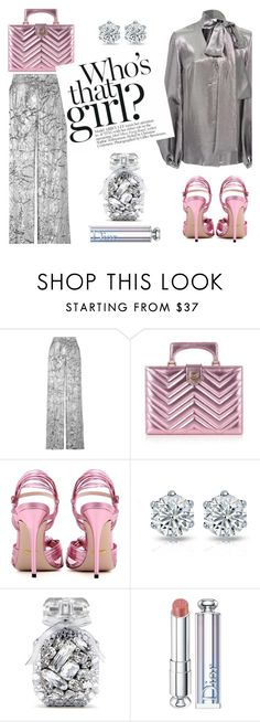 """""""Who's that girl?"""" by rasa-j ❤ liked on Polyvore featuring Delpozo, Gucci, Victoria's Secret, Christian Dior and Racil"""