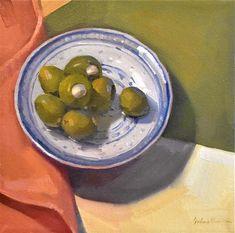 Garlic-Stuffed Olives - Sarah Sedwick