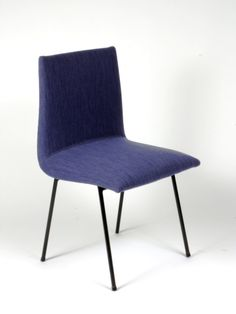 Pierre Paulin; Side Chair for TV Meubles, 1954.