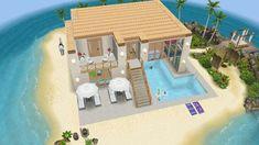 Casas The Sims Freeplay, Sims Freeplay Houses, Sims Free Play, Sims 4 Family House, Sims 4 Game Mods, Sims 4 House Design, Sims House Plans, Casas The Sims 4, Sims Four