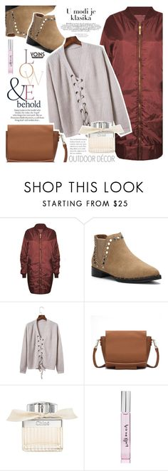 """""""Must for winter"""" by vanjazivadinovic ❤ liked on Polyvore featuring ASOS, Chloé and Kate Spade"""