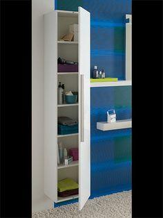 Collection de salle de bains LOVELY - Meubles point d'eau, composables - 35 cm - ALLIA innove pour vous depuis 1892