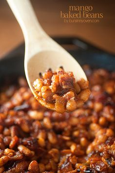 A tasty twist on traditional baked beans, perfect for summer barbecues! I'm saving this one for 4th of July!