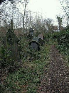 The Sheffield General Cemetery Abandoned, South Yorkshire, England.