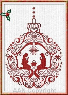 Manger Ornament: AAN