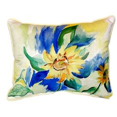 You'll love the Sunflower Indoor/Outdoor Lumbar Pillow at Wayfair - Great Deals on all Décor & Pillows products with Free Shipping on most stuff, even the big stuff.