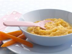 Cheesy leek, sweet potato and cauliflower puree