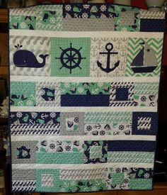 Thing One & Thing Two quilt from capitolaQuilter. | Dr. Seuss ... : nautical quilt fabric - Adamdwight.com