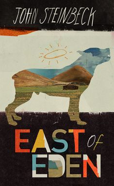 East of Eden cover, from Steinbeck series designed by Kathryn Macnaughton (http://www.kathrynmacnaughton.com)