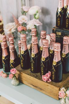 In the spirit of the Royal Wedding, wow your guests with exquisite Moët & Chand. In the spirit of the Royal Wedding, wow your guests with exquisite Moët & Chandon wedding favours. Moet Chandon, Chandon Rose, Indian Wedding Favors, Wedding Favours, Wedding Gifts, Champagne Wedding Favors, Mini Champagne Bottles, Champagne Party, Party Favours