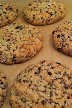 Chia Seed, Cacao and Almond Biscuits