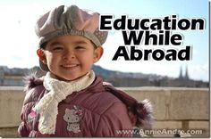 How to keep your kids on track with school while traveling abroad