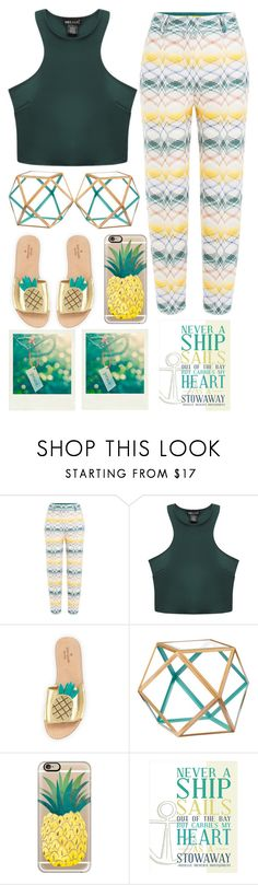 """""""Never A Ship Sails"""" by emcf3548 ❤ liked on Polyvore featuring Missoni, Wet Seal, Kate Spade, Dot & Bo, Polaroid, Casetify and Monday"""