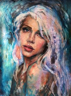 Buy Original Artwork at Artwork Only - Moonlight by Lindsay Rapp