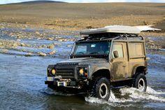 """Wading """"Porthos"""" Iceland 2015"""