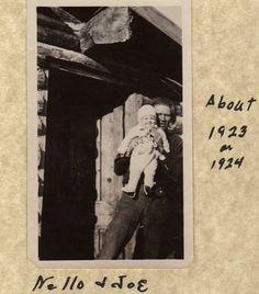 Grandpa and Dad 1924