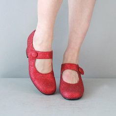 Ruby Mary Janes | ruby slippers