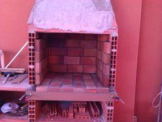 Hacer Barbacoa de obra | Bricolaje Diy Grill, Barbecue Grill, Outdoor Bbq Kitchen, Brick Bbq, Four A Pizza, Garden Doors, Home Hacks, Backyard Patio, Decoration