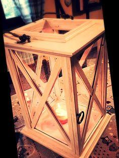 Lanterna in legno
