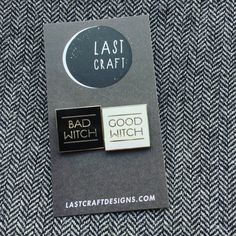 Good Witch/ Bad Witch PIN SET