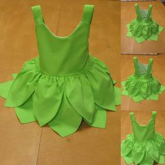 Baby dress, Tinkerbell inspired baby dress, baby dress tinkerbell birthday, tinkerbell baby dress costume Perfect to any occasion first skirt with shiny organza fabric at the top, and at the bottom it has two frills so that the dress becomes wider Tinkerbell Kostüm Kind, Tinkerbell Costume Kids, Tinkerbell Dress, Kids Dress Wear, Dresses Kids Girl, Kids Outfits, Dress Girl, Cute Baby Dresses, Kids Dress Up