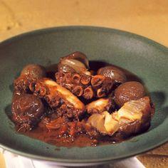 Χταπόδι στιφάδο - gourmed.gr Beef, Recipes, Food, Meat, Recipies, Essen, Meals, Ripped Recipes, Yemek
