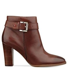 Tommy Hilfiger Shoes, Vales Buckle Booties - All Women's Shoes - Shoes - Macy's