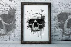 skull print / T-shirt Graphics @creativework247