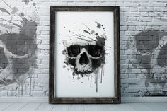 skull print / T-shirt Graphics @creativework247