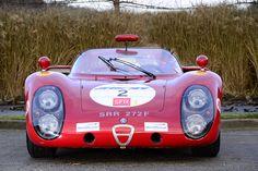 1968, Alfa Romeo Tipo 33/2 Daytona :: boxer12c: