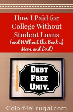 How I Paid for College Without Student Loans College costs have skyrocketed over the last few years, making it expensive to get an education in many cases. Find out how I paid for college without student loans. – College Scholarships Tips College Costs, Financial Aid For College, Scholarships For College, College Life, School Scholarship, College Hacks, College Grants, School Loans, College Savings